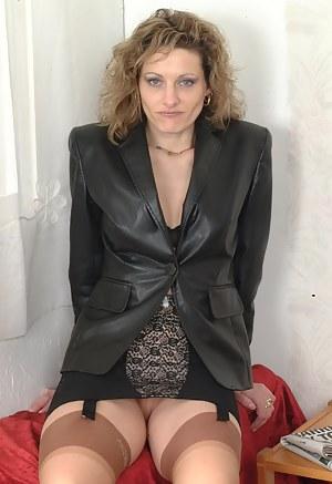 Moms Leather @ Hot Mom Porn Pics